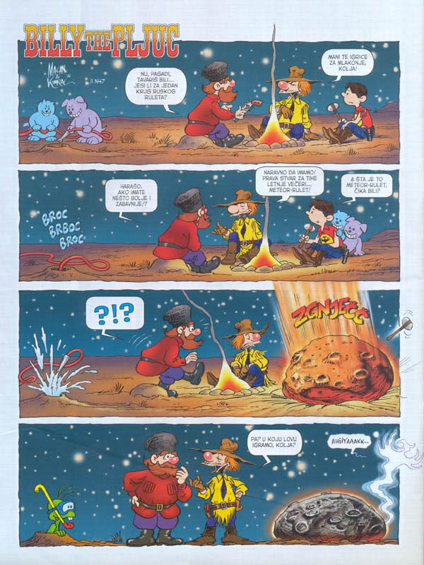 Serbia - Comics - Billy the pljuc