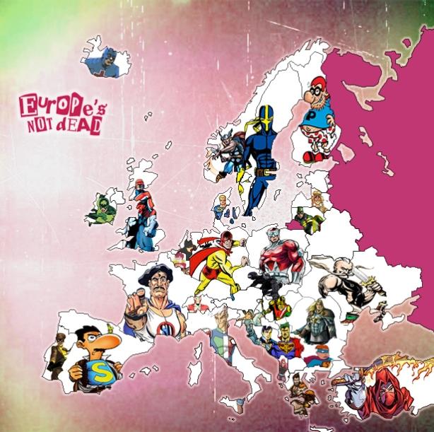 Europe Superheroes