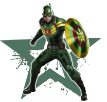 Superheroes - Lithuania - Captain Lithuania
