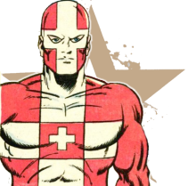 Superheroes - Switzerland - Captain Switzerland