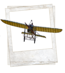 European Inventions - Albania - Poplar Airplane