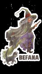Italy - European creature - Befana